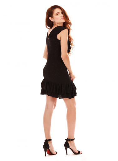 6ixty8ight Abiye Elbise Siyah